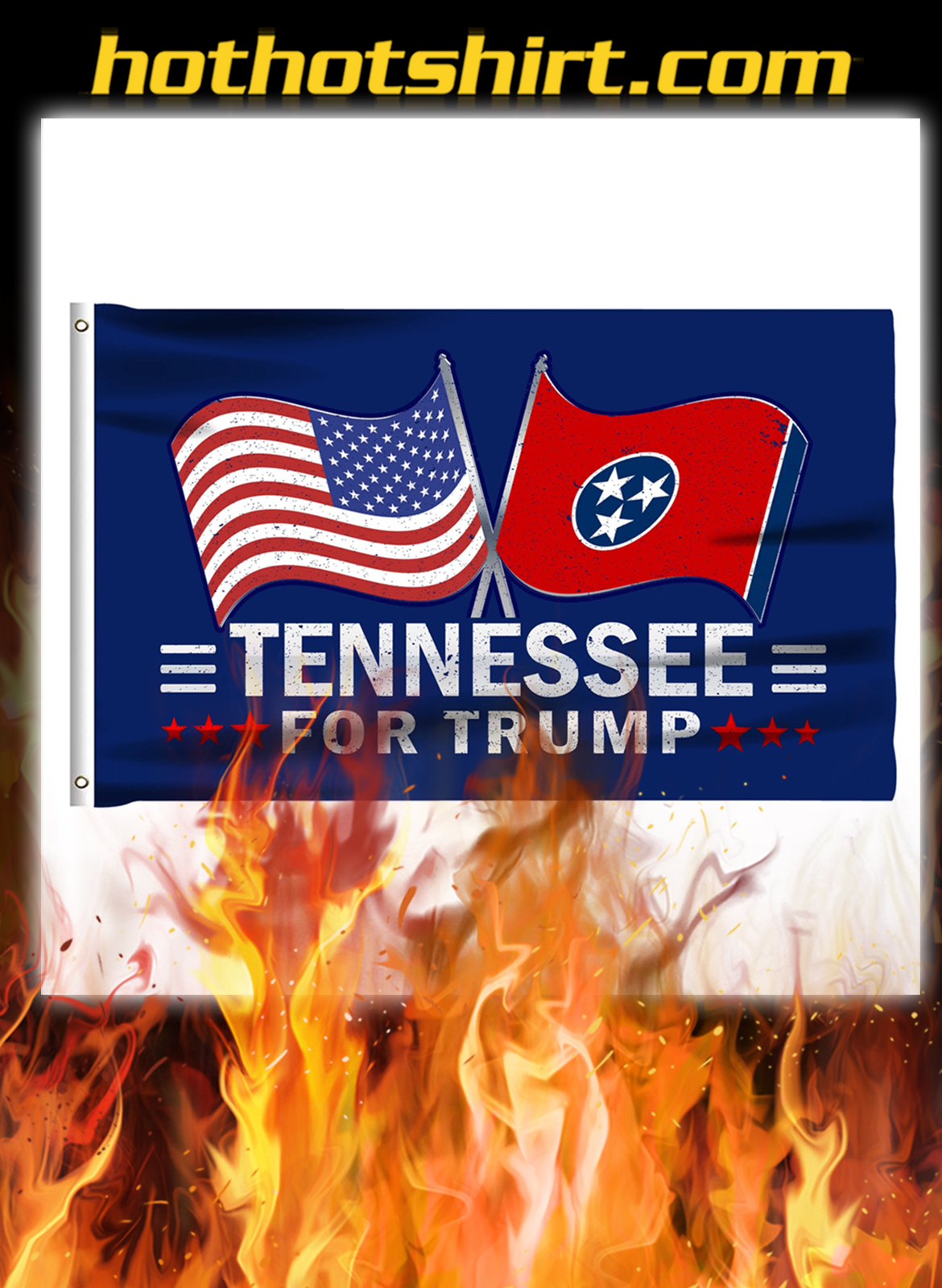 Tennessee For Trump Flag- pic 1