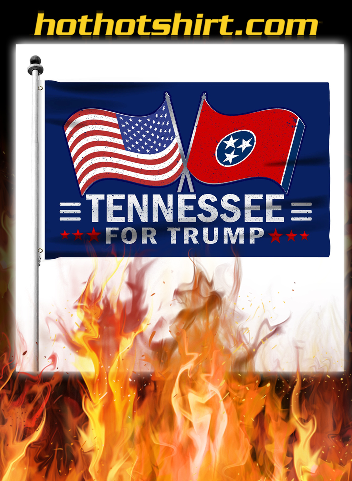 Tennessee For Trump Flag- pic 2