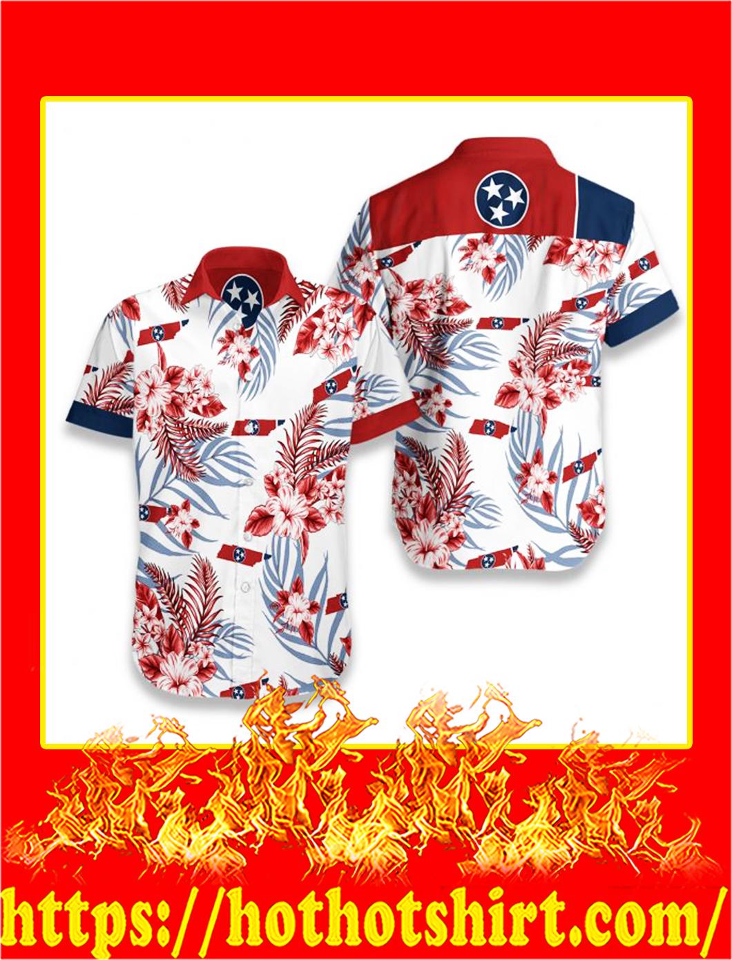 Tennessee proud hawaiian shirt - S