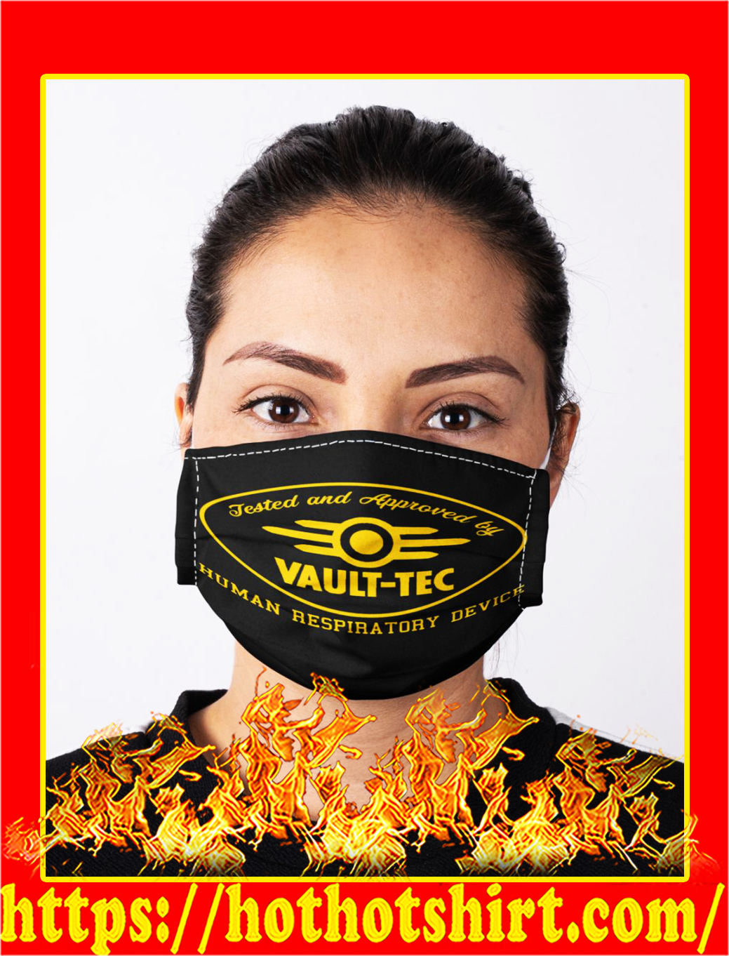 Tested and approved by vault-tec human respiratory device face mask- pic 1