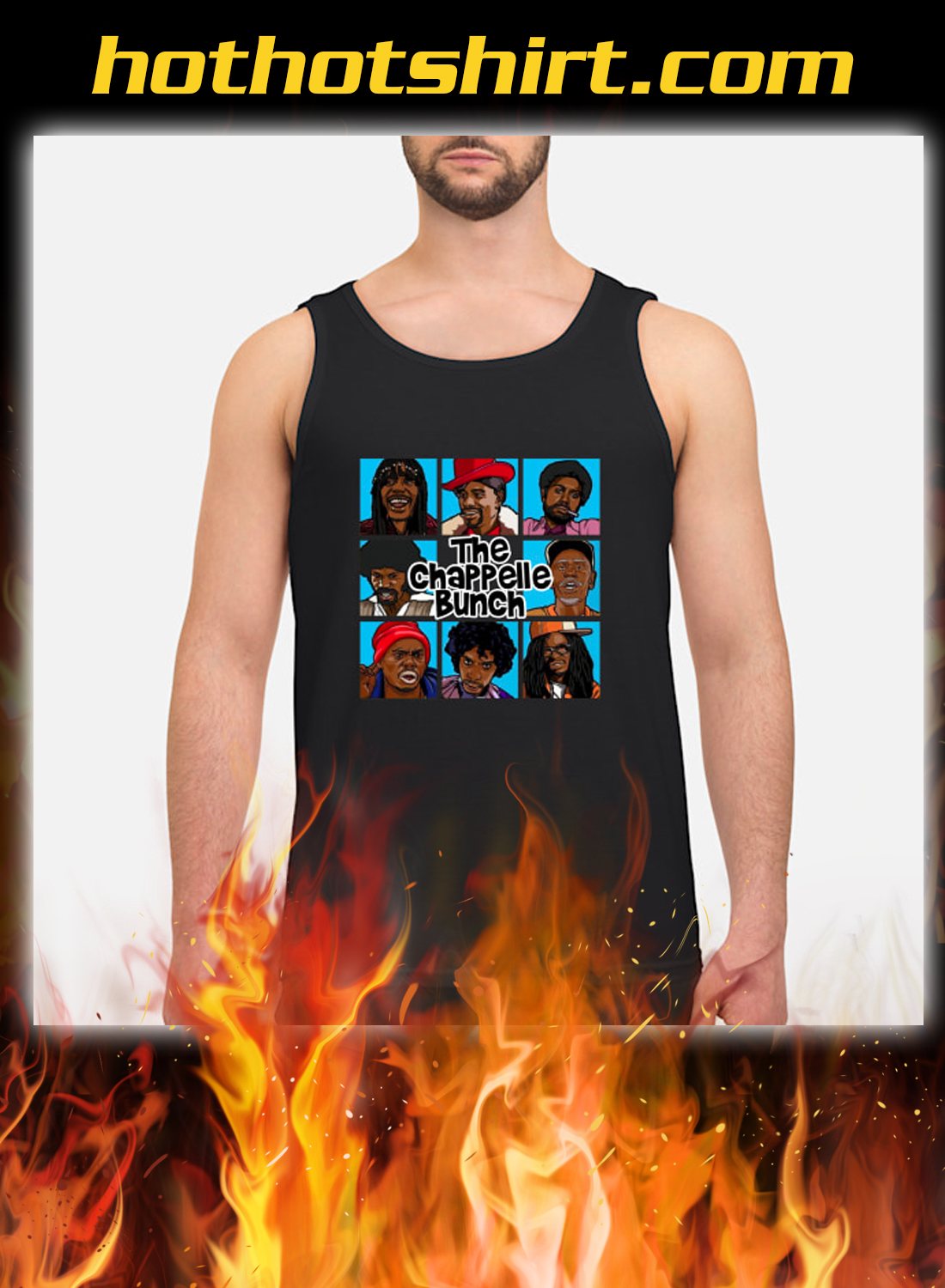 The Chappelle Bunch tank top