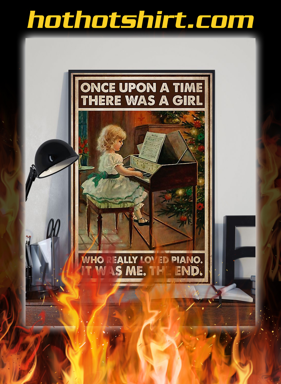 There was a girl who really loved piano poster 2