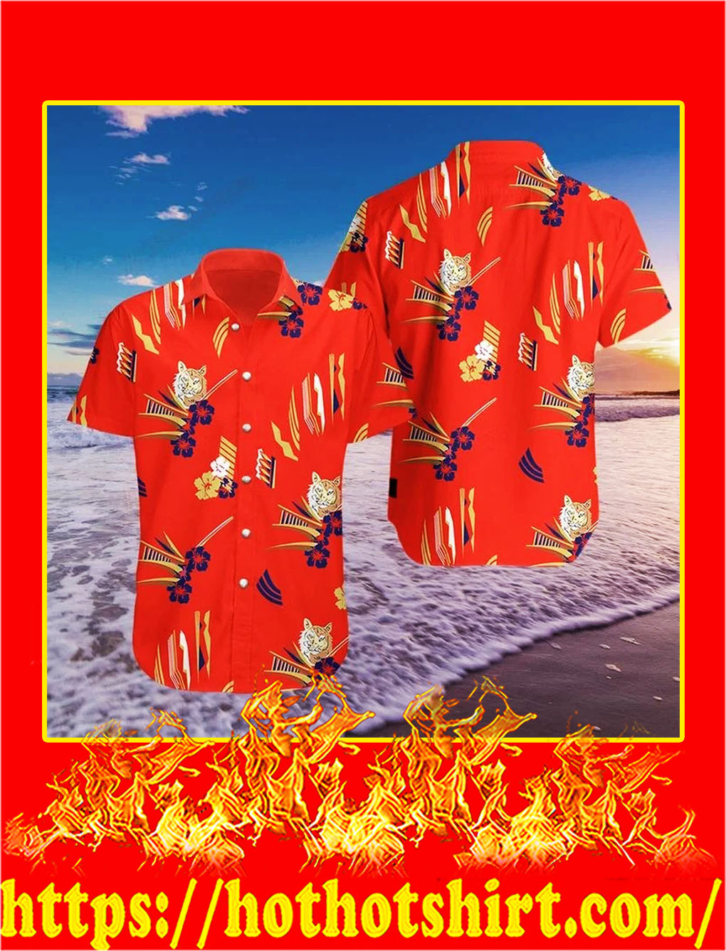 Tony montana al pacino in scarface hawaiian shirt - S