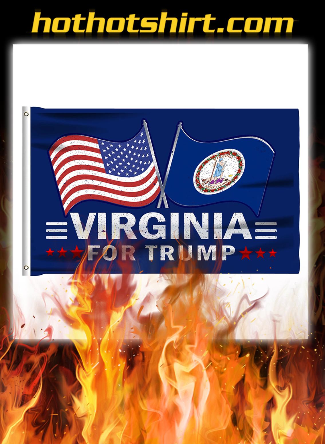Virginia For Trump Flag- pic 1