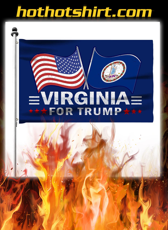 Virginia For Trump Flag- pic 2