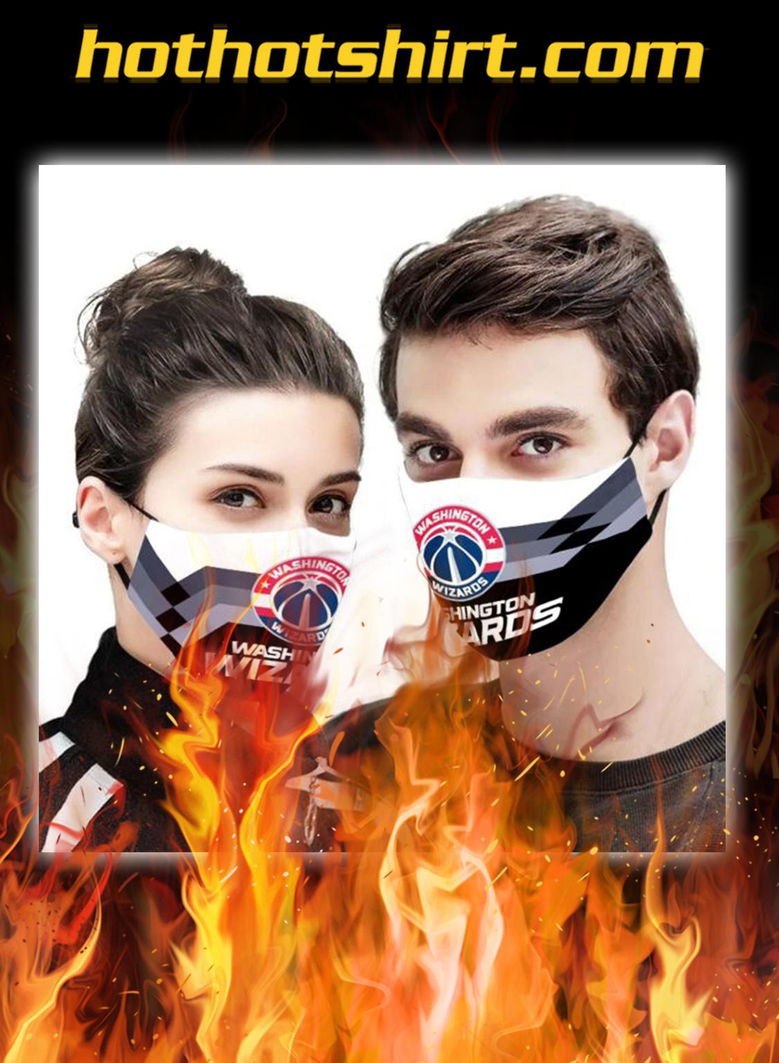 Washington Wizards NBA face mask - pic 1