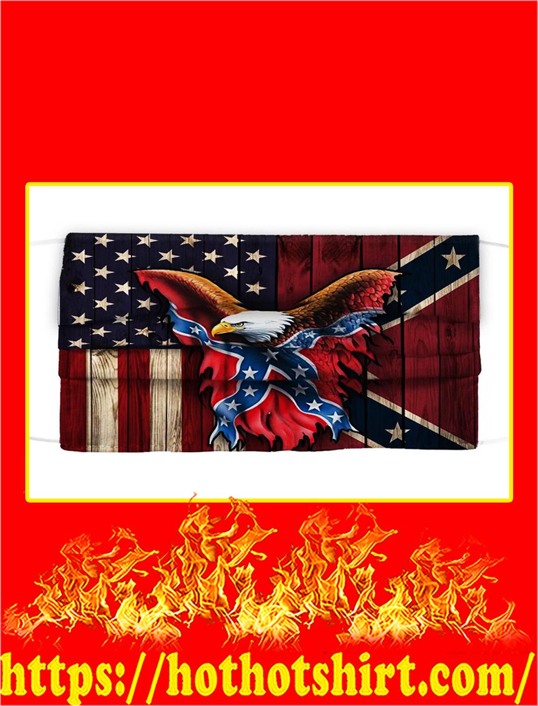 confederate flag eagle face mask- pic 1