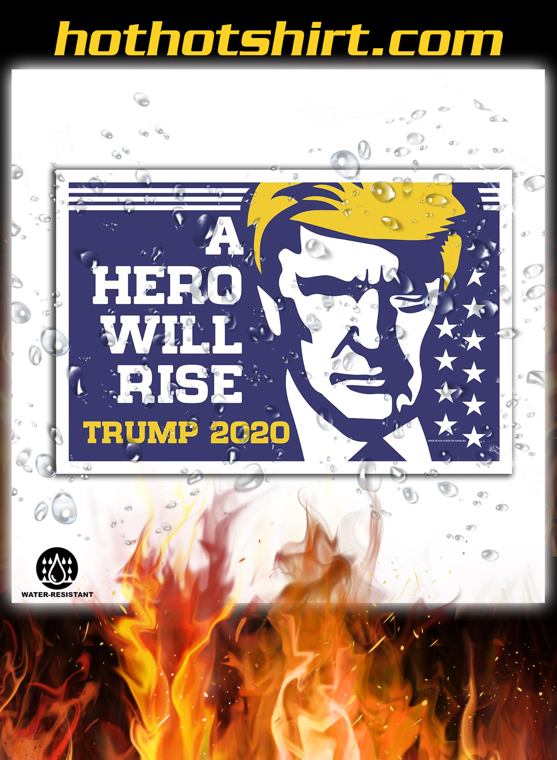 A hero will rise trump 2020 yard signs 3