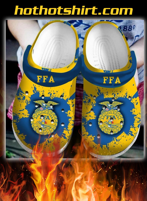 Agriculture FFA Crocs Crocband Clog - detail