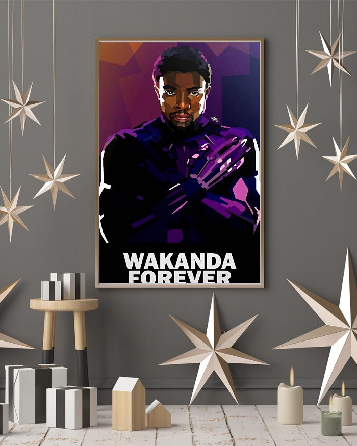 Black panther wakanda forever poster 1
