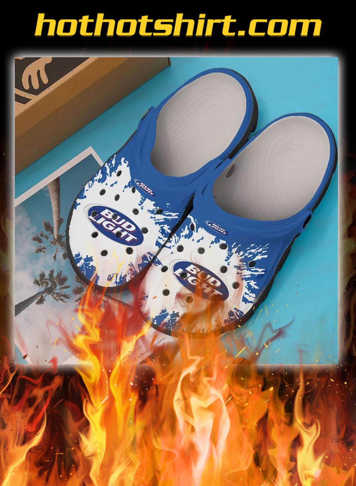 Bud light crocband crocs shoes- pic 1