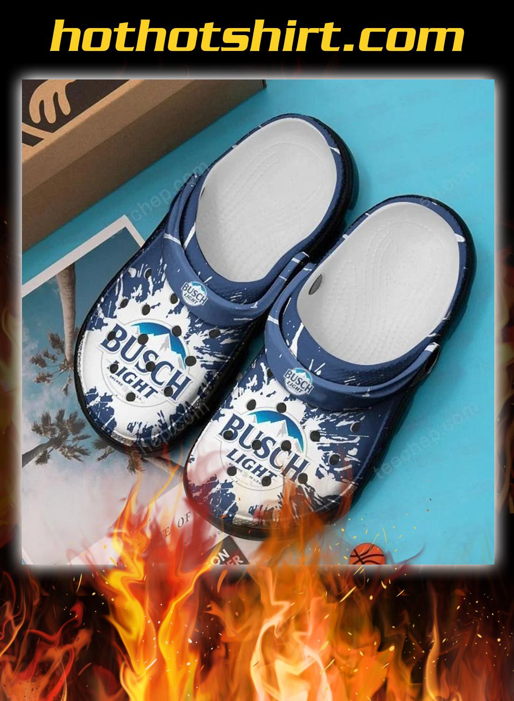 Busch light crocband crocs shoes - detail