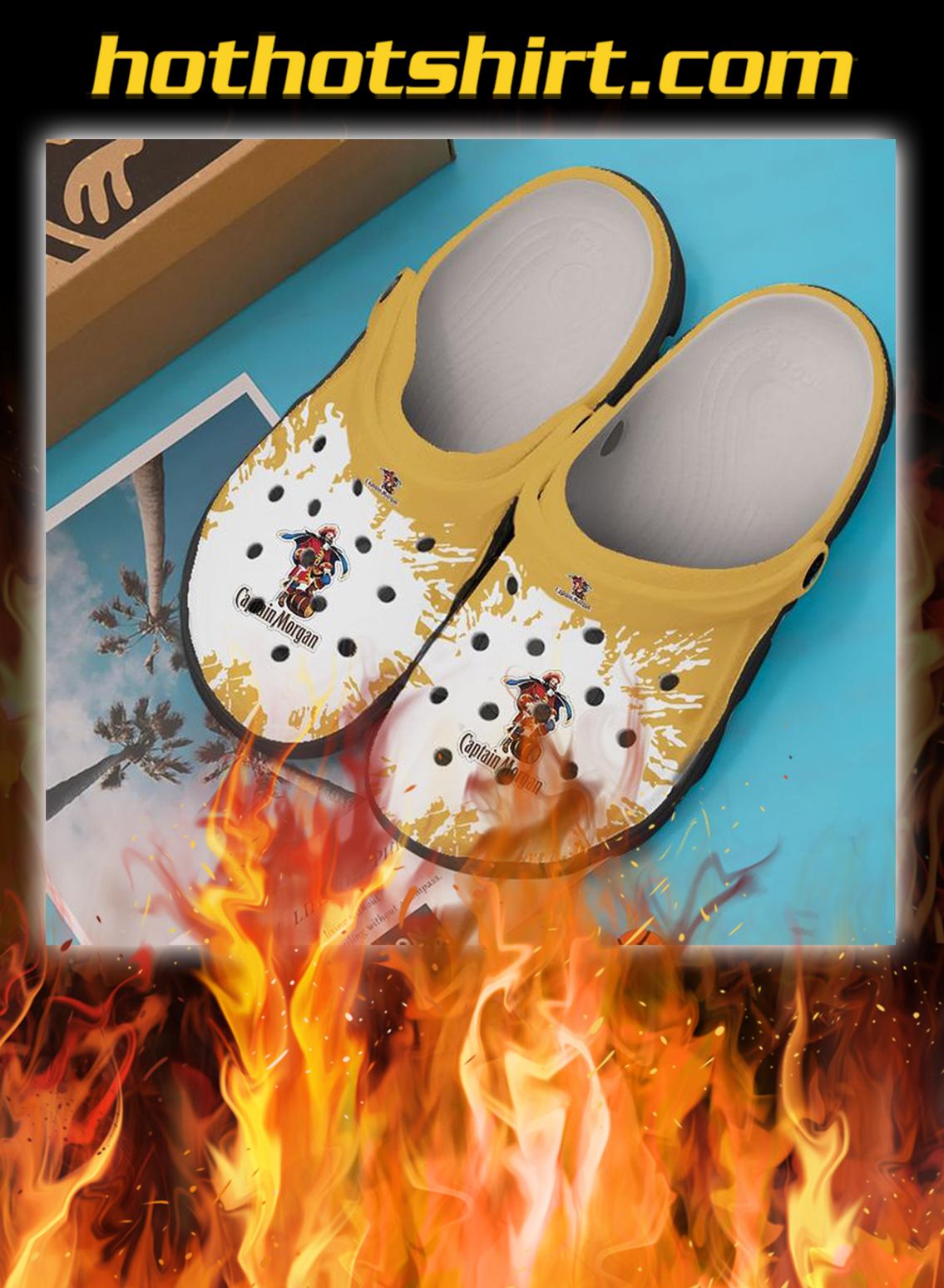 Captain morgan crocband crocs shoes- pic 1