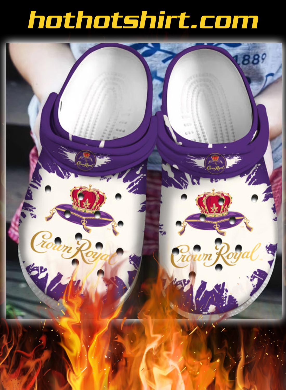 Crown Royal crocband crocs shoes - detail