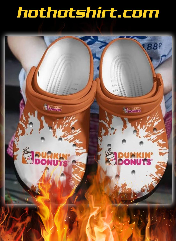 Dunkin' donuts crocs crocband clog - detail