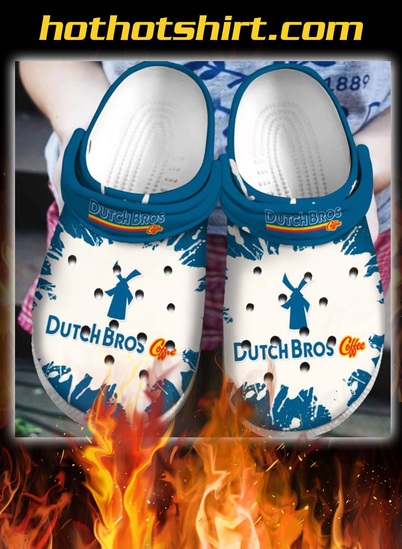 Dutch Bros coffee crocband crocs shoes - detail