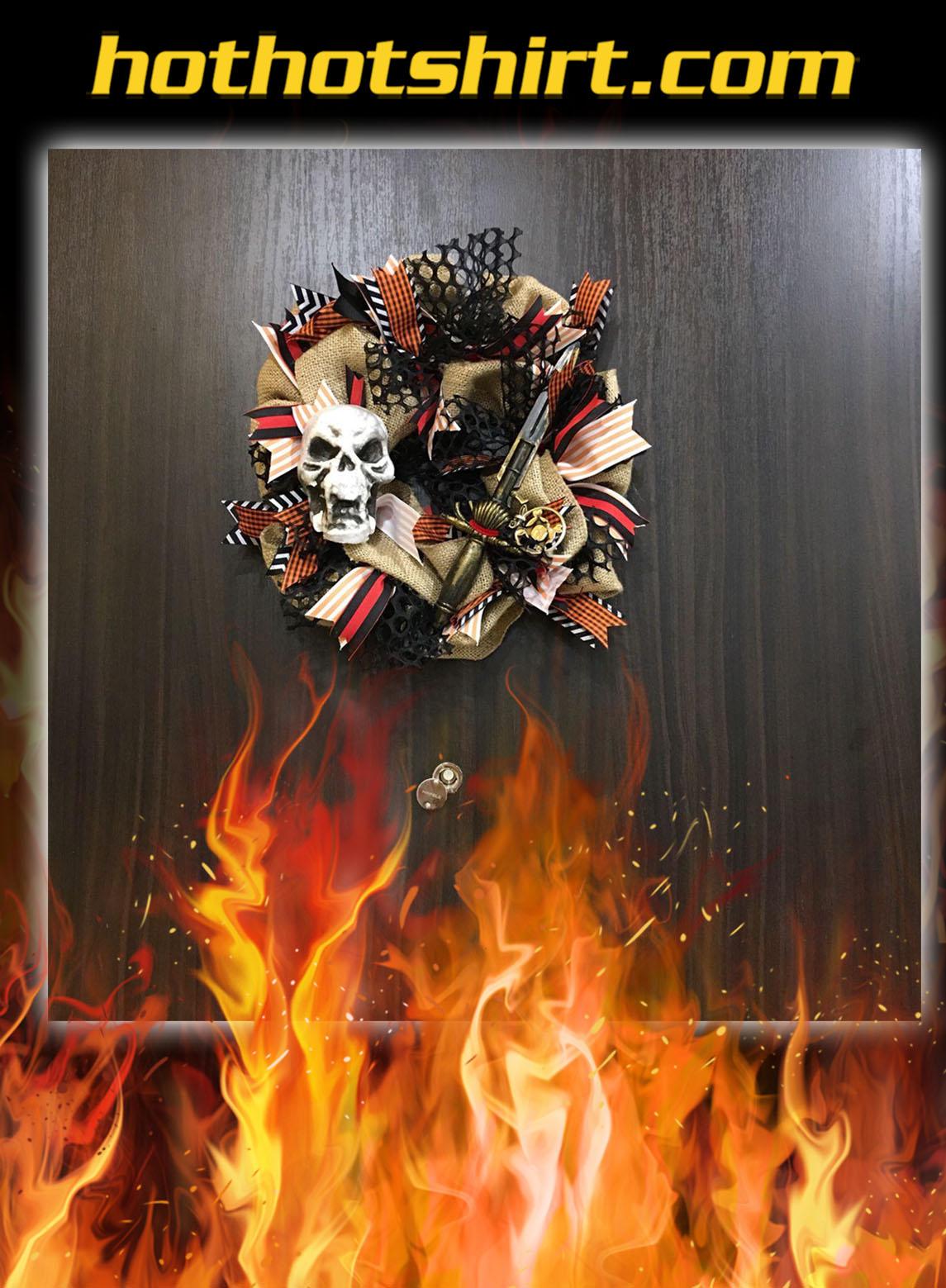 Gasparilla Skull Wreath- pic 1