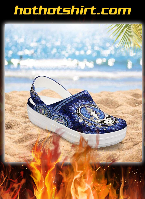 Grateful dead crocband crocs shoes 1