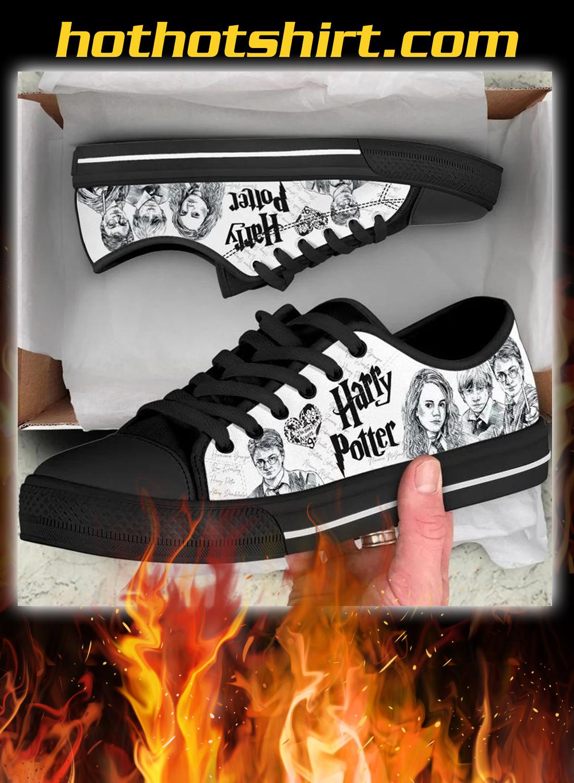 Harry potter low top shoes - black