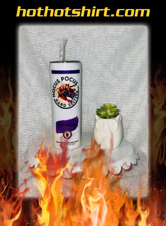 Hocus pocus seltzer halloween glitter tumbler 2