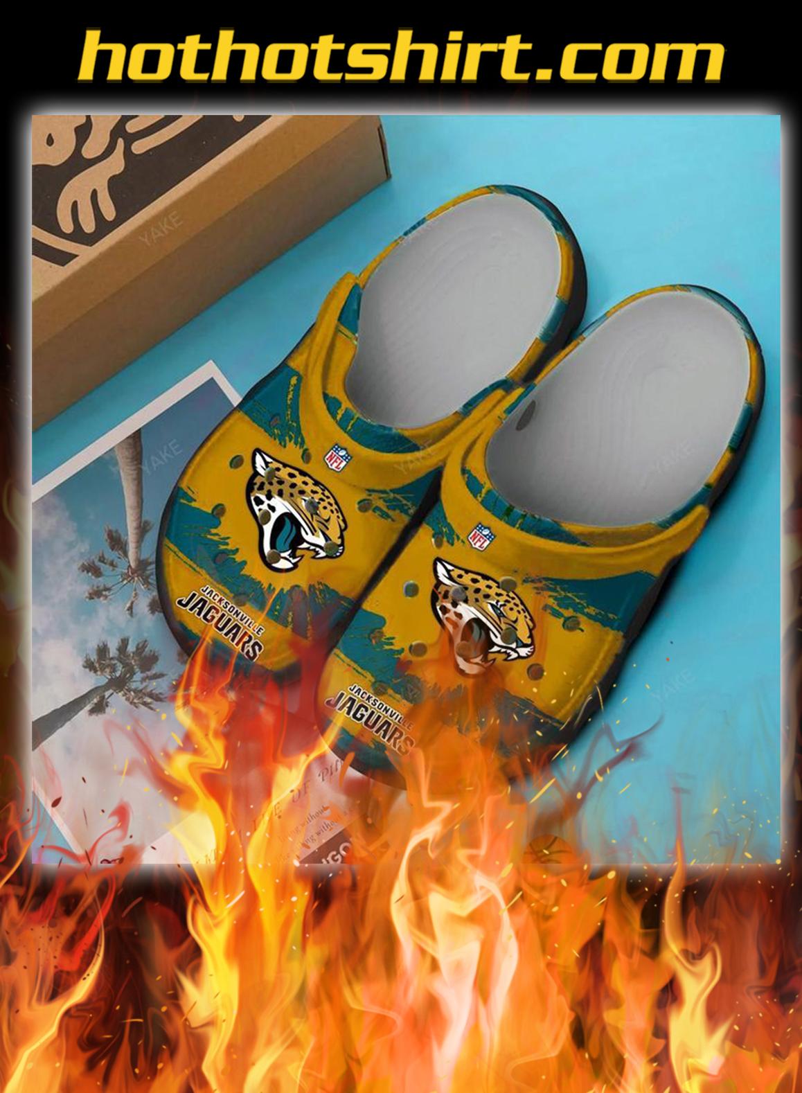 Jacksonville jaguars crocband crocs shoes- pic 1