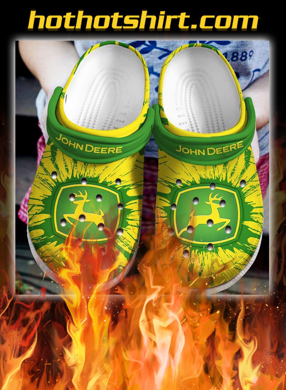 John deere crocband crocs shoes- pic 1