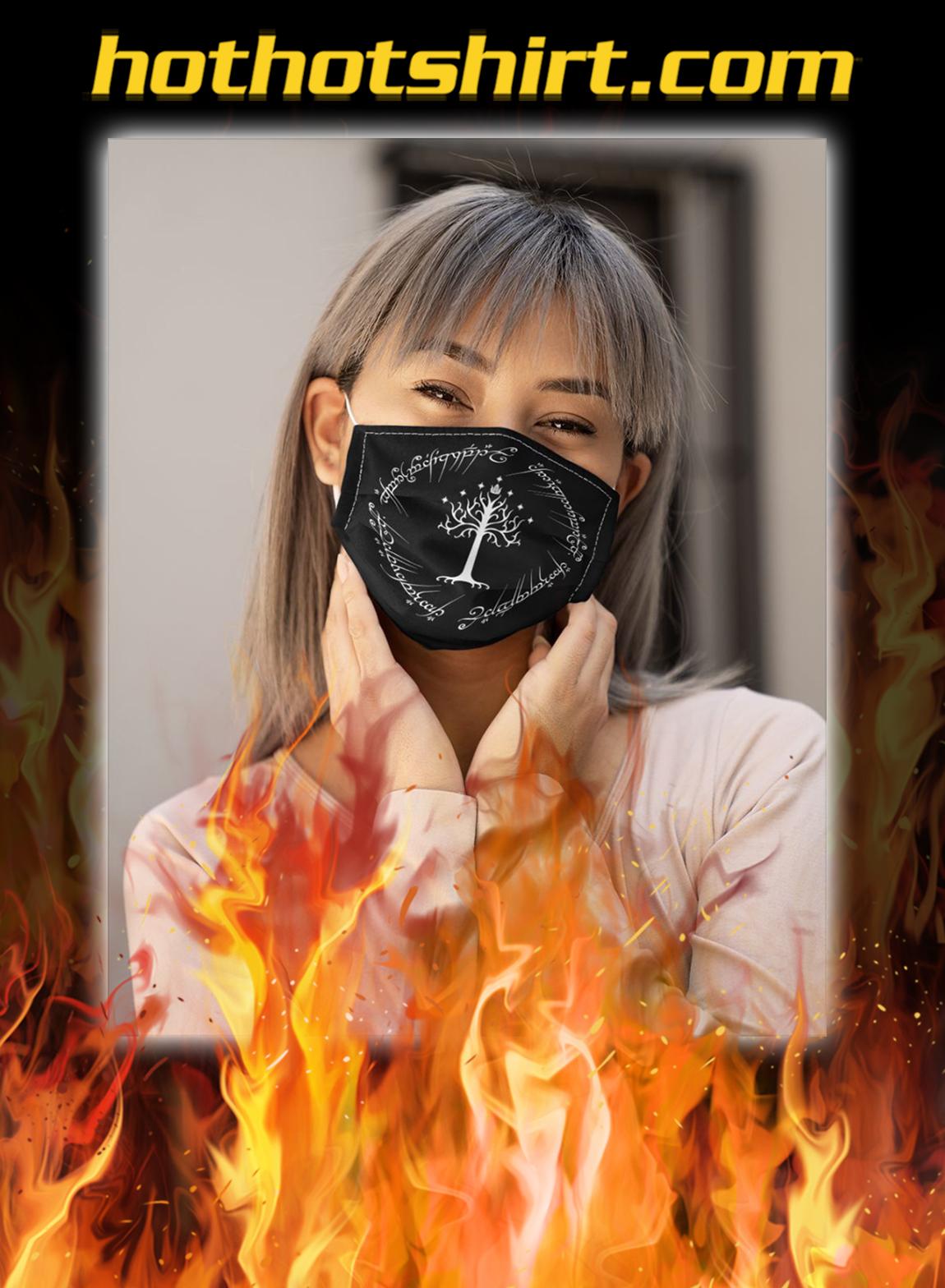 LOTR gondor tree face mask- pic 1
