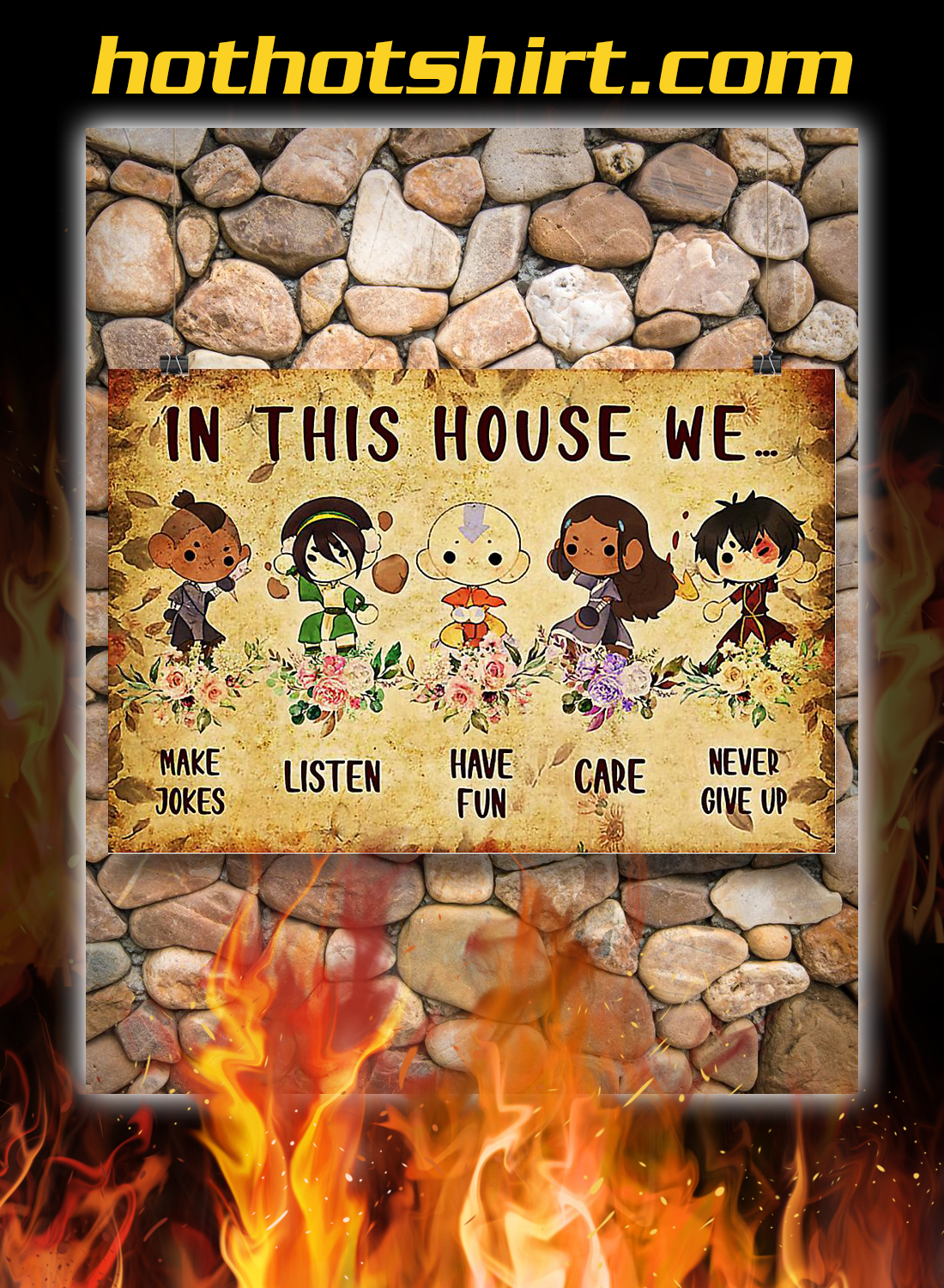 Last airbender in this house we poster 2