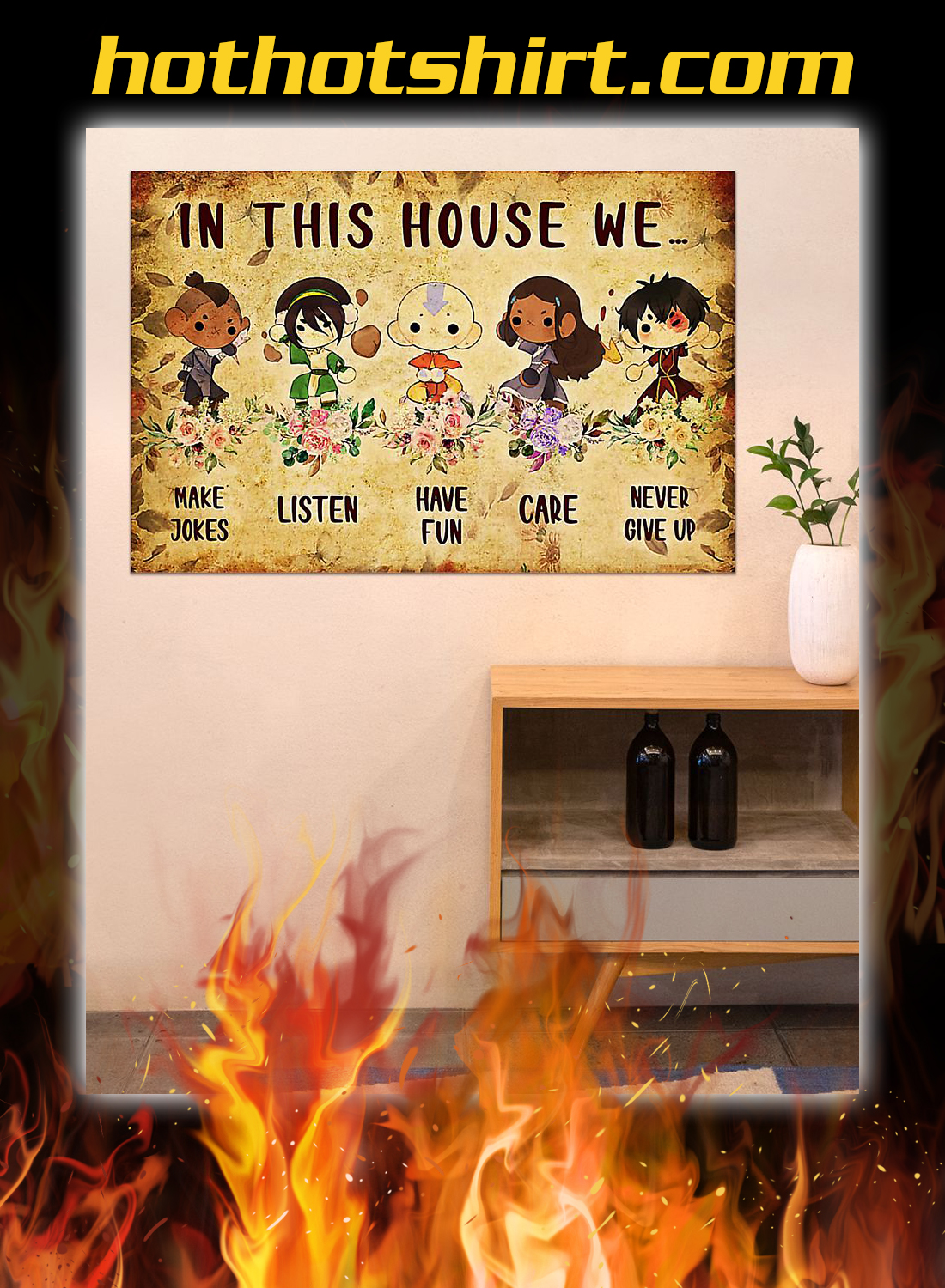Last airbender in this house we poster 3