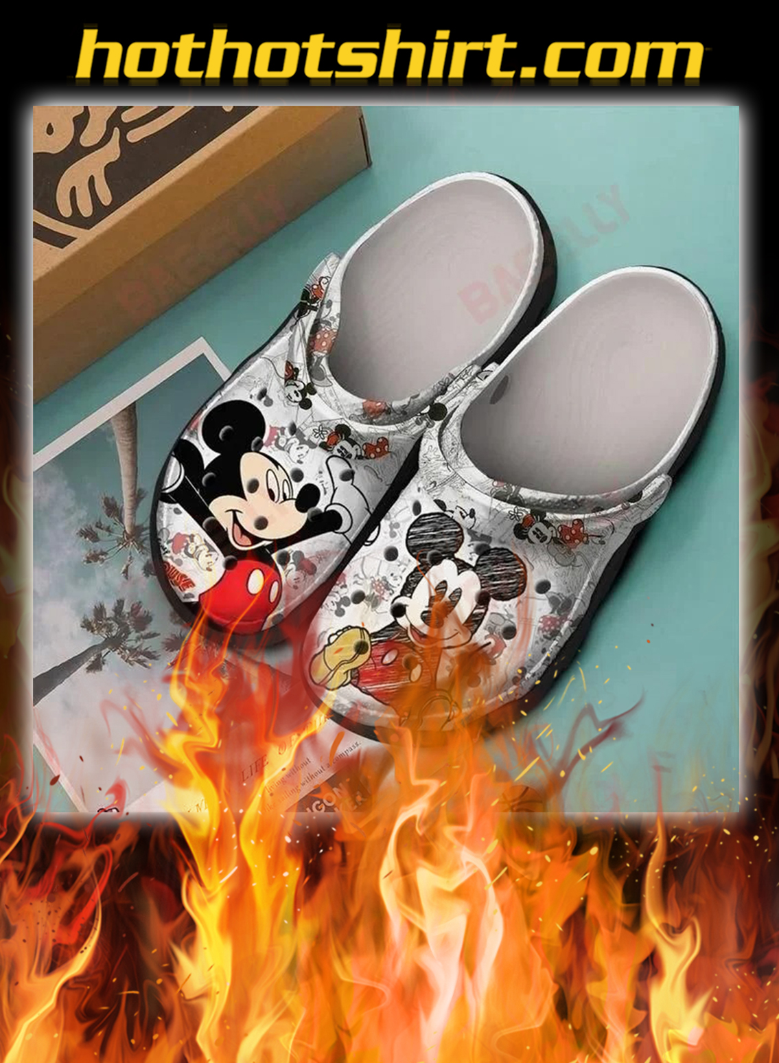 Mickey crocband crocs shoes - pic 1