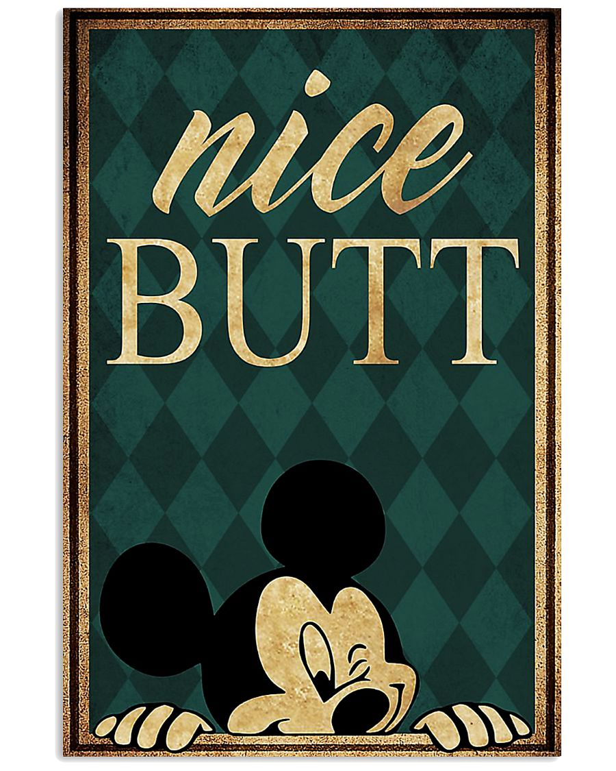 Mickey mouse nice butt poster 1
