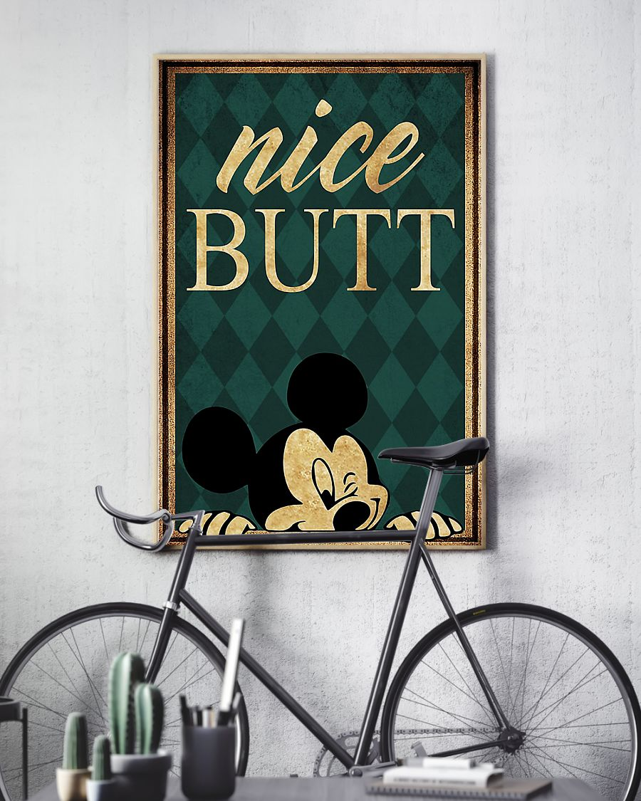 Mickey mouse nice butt poster 2