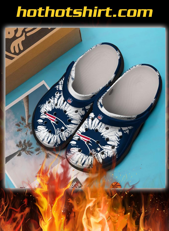 New england patriots crocband crocs shoes 1