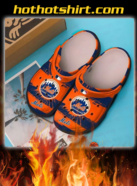 New york mets crocband crocs shoes 1