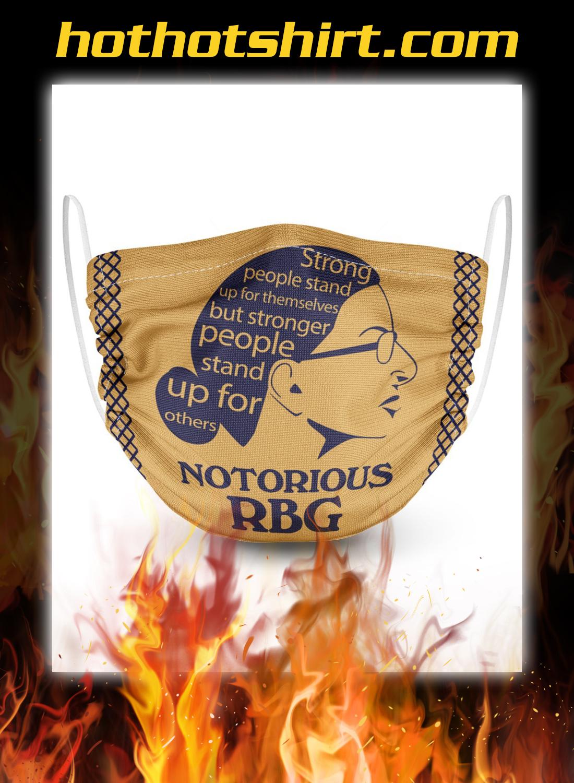 Notoripus rbg face mask - detail