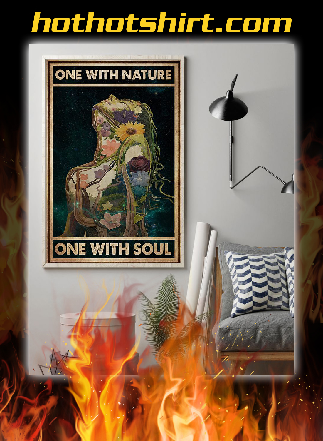 One with nature one with soul poster 1