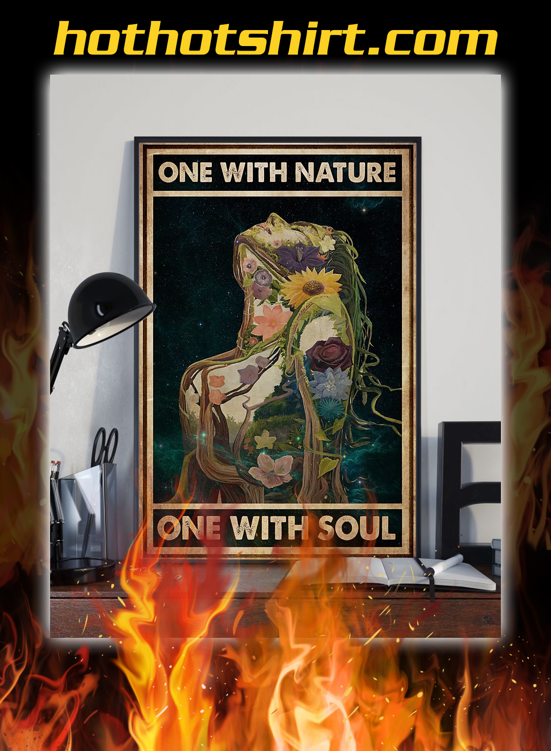 One with nature one with soul poster 2