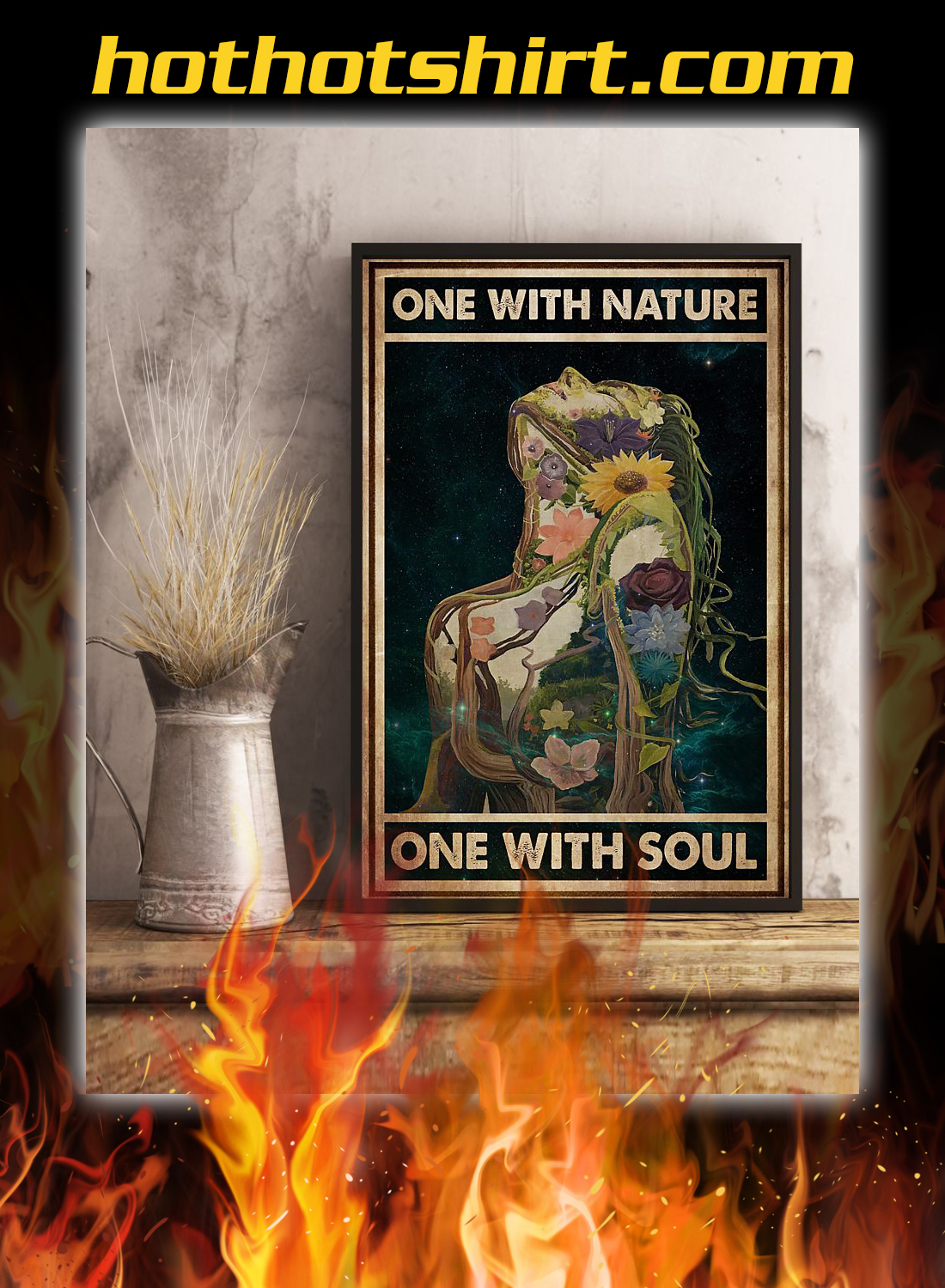 One with nature one with soul poster 3