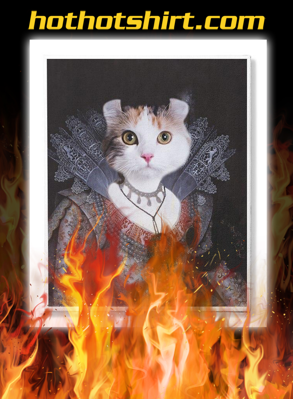 Personalized custom cat and pet photo canvas prints- pic 3