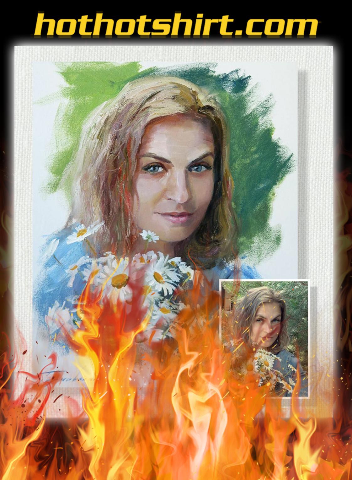 Personalized custom photo oil portrait renaissance painting- pic 2