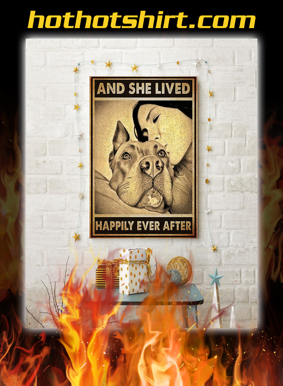 Pitbull and she lived happily ever after poster 3