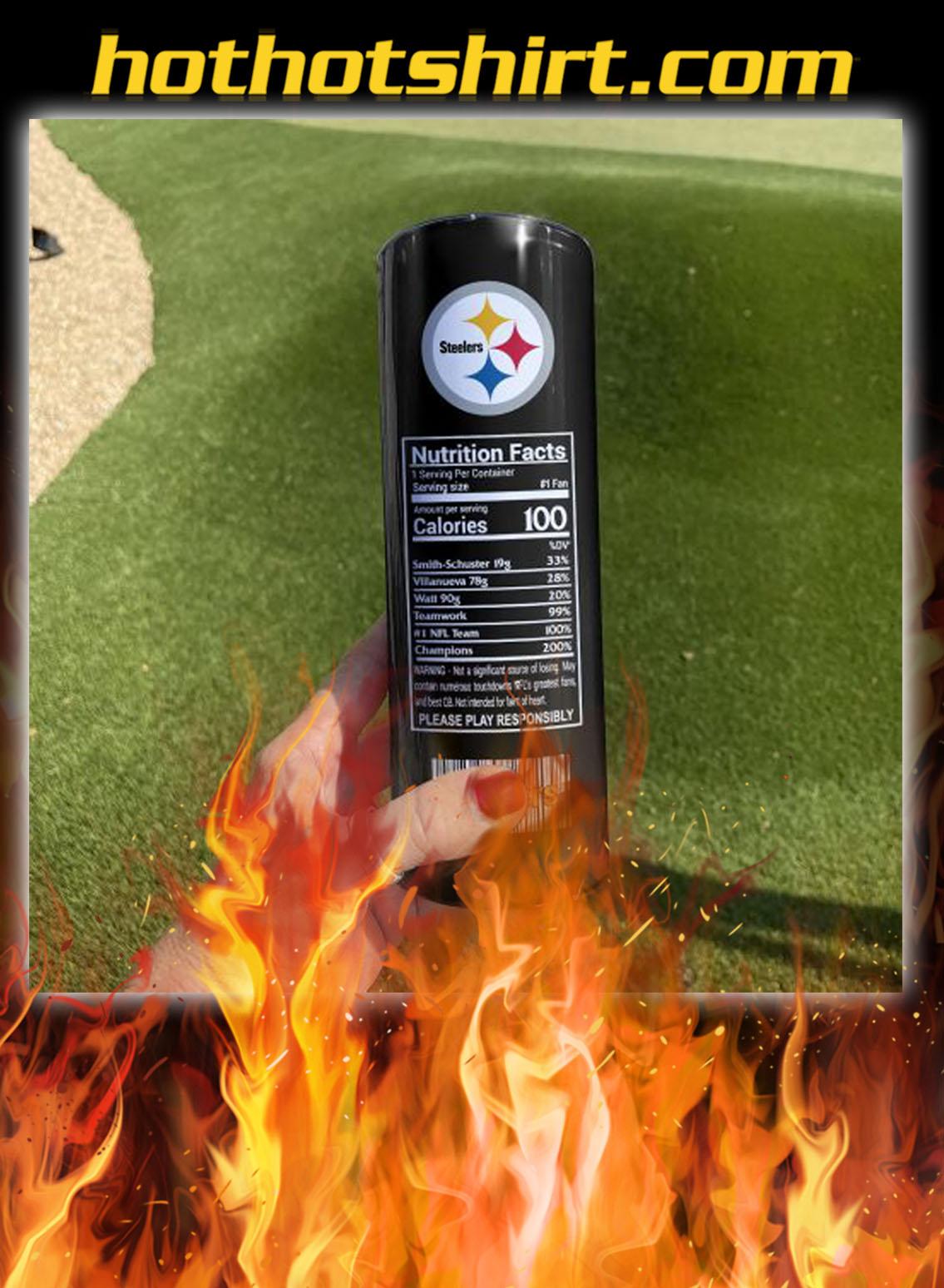 Pittsburgh steelers energy skinny tumbler- pic 2