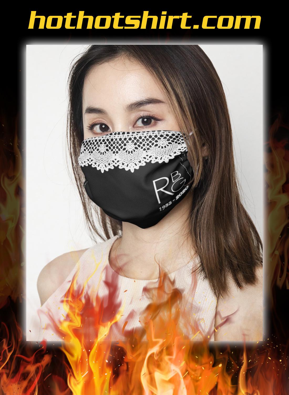 RBG 1933 2020 face mask 1