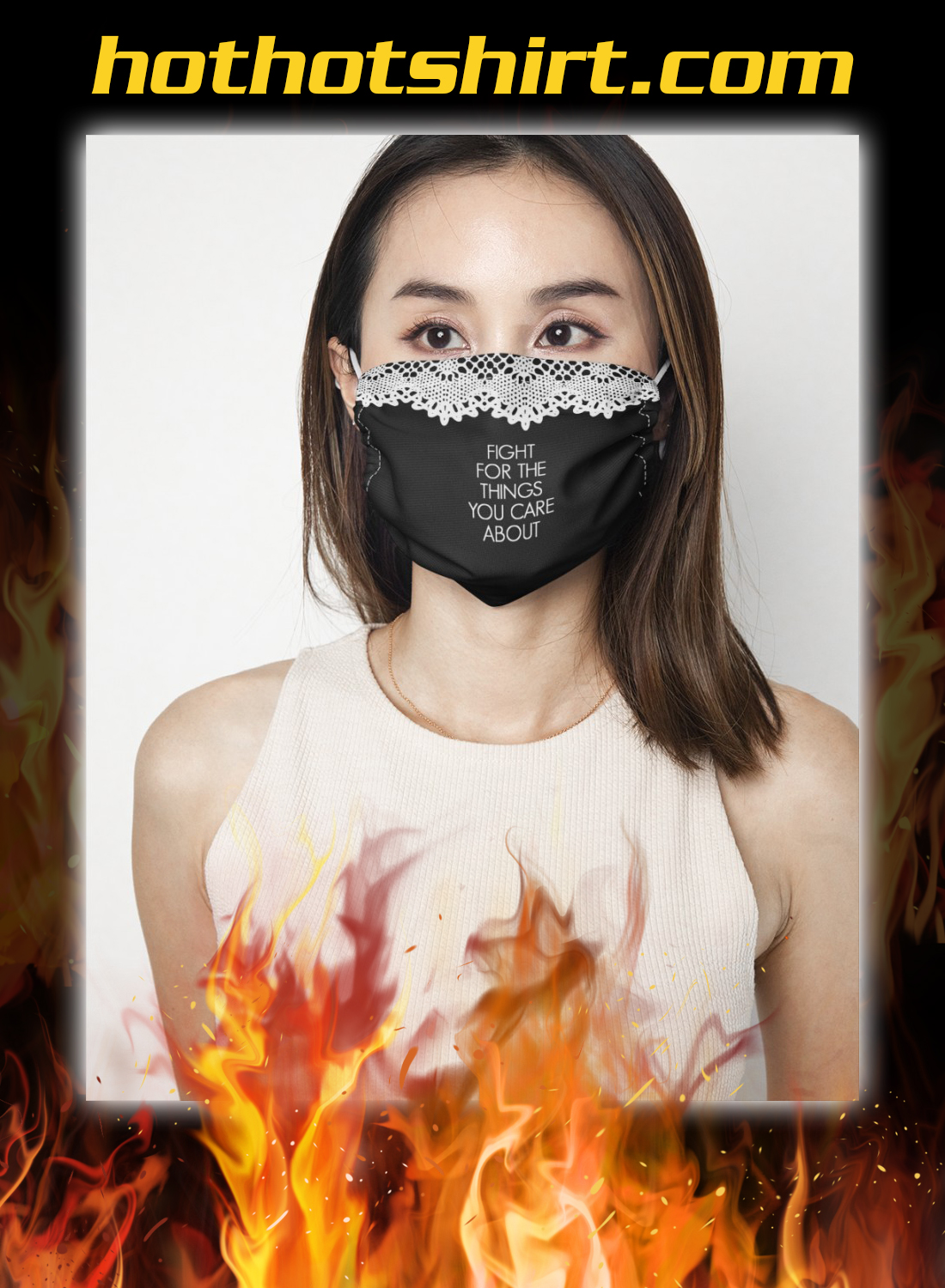 Rbg collar fight for the things you care about face mask 2