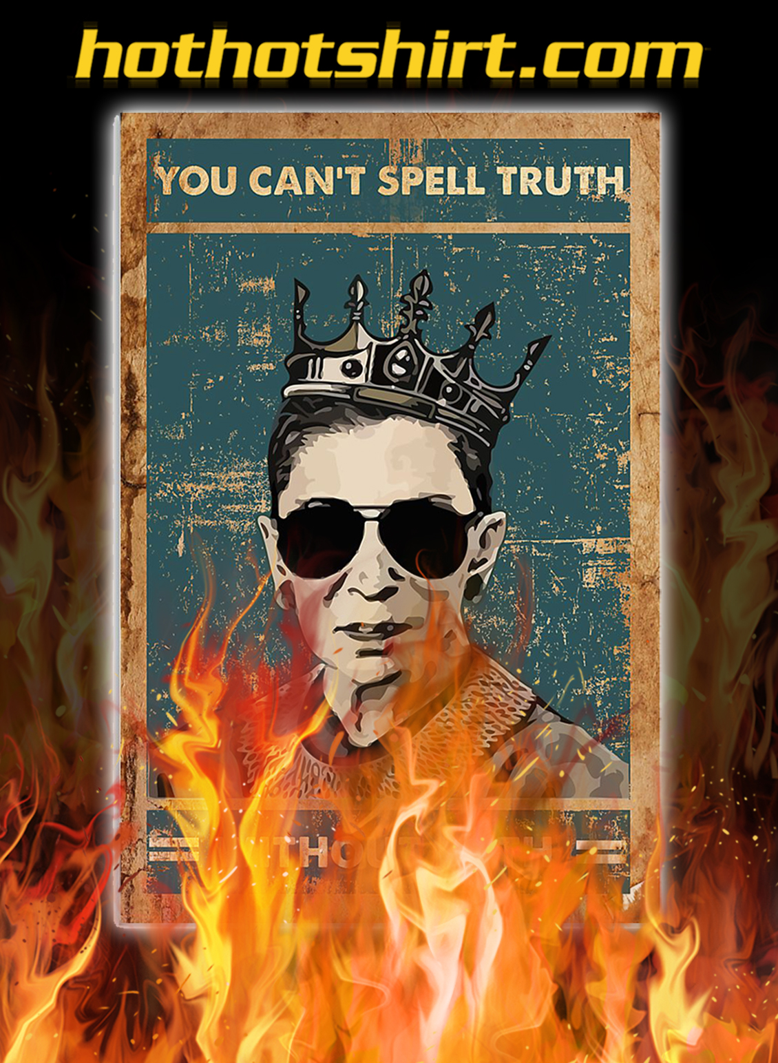 Rbg you can't spell truth without ruth poster - A2