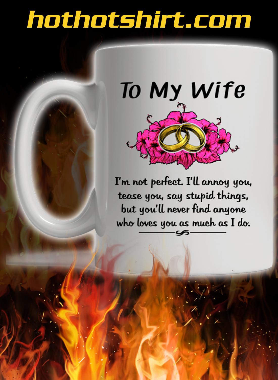Ring to my wife mug