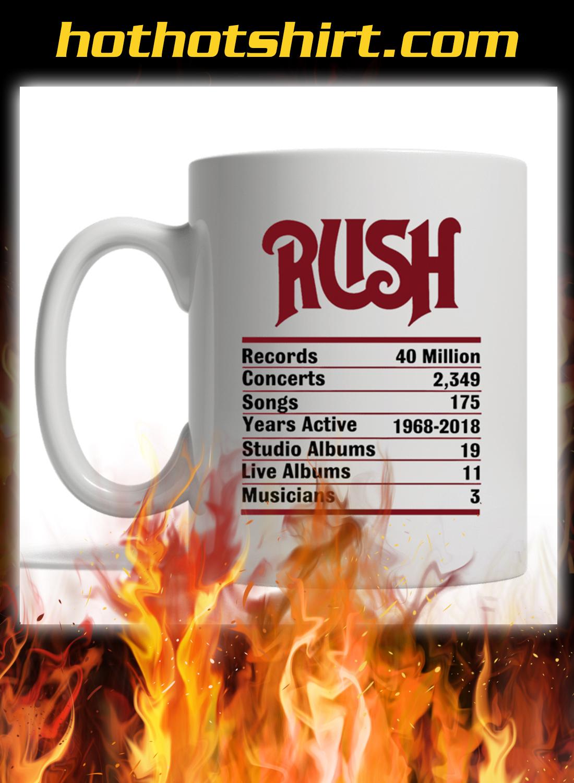 Rush band mug 1