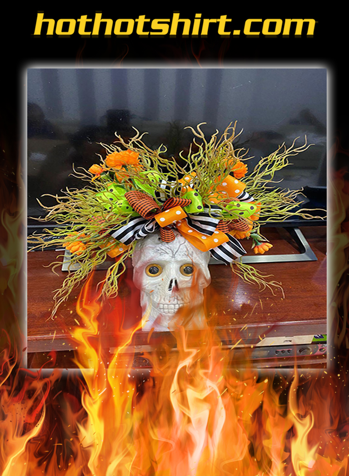 Skeleton Wreath- pic 1