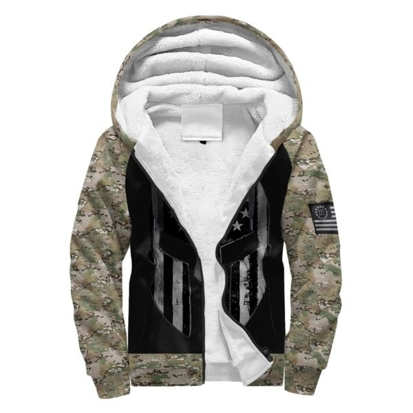 Spartan soldier three percenters 1776 3D all over printed hoodie, shirt 3