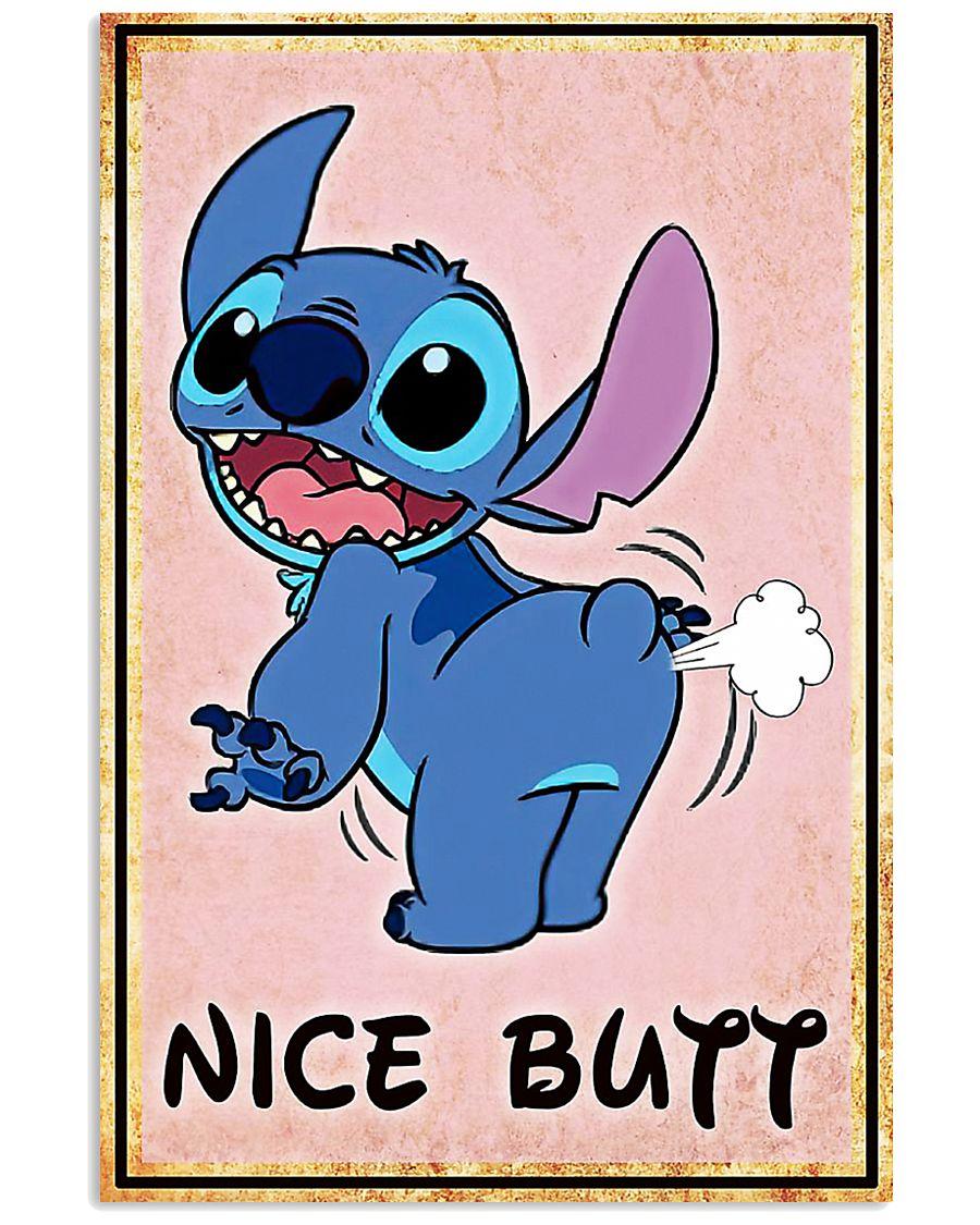 Stitch fart nice butt poster 1
